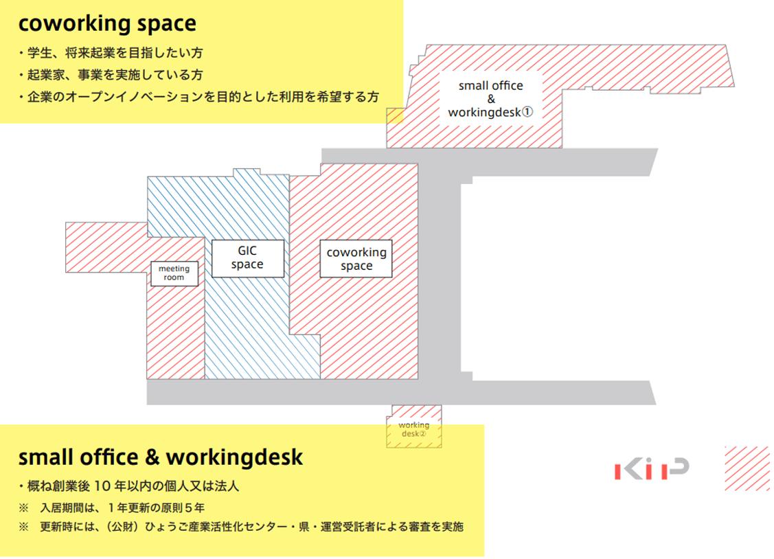 起業プラザひょうご施設情報マップ